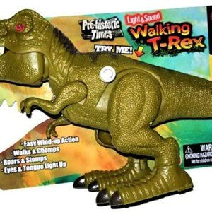 Pre-Historic Times Walking T-REX - Green